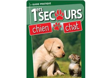 Miniature Livret Premiers Secours chien et chat